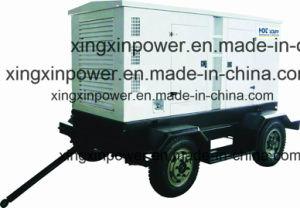 Beweglicher Yuchai Motor-Generator mit Rad und Schlussteil