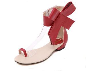 La clásica Nuevo Diseño de Moda señoras sandalias planas
