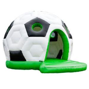2018 Copa Mundial de Fútbol de la casa de rebote de puente de Domo inflable para niños Chb0629