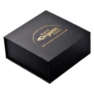 선물 상자를 인쇄하는 호화스러운 자석 판지 상자 관례