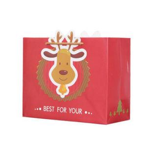 Nouveau design Sac en Papier de cadeau de Noël (YH-PGB044)