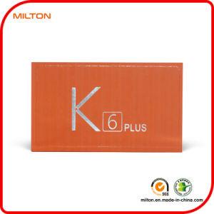 Настраиваемые оранжевого цвета печати подарочная упаковка для мобильного телефона и электронной продукции