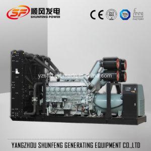 Gruppo elettrogeno diesel di potere silenzioso insonorizzato di 800kw Mitsubishi Electric