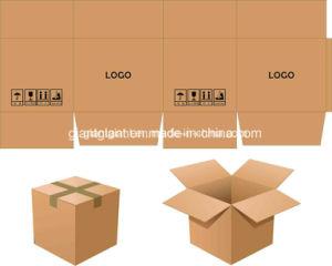 Contenitore automatico pieno di scatola della cucitrice di Gluer del dispositivo di piegatura