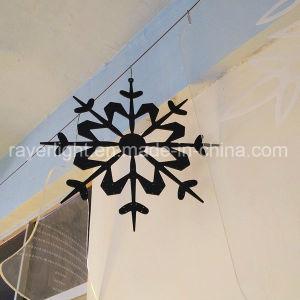 La decoración de jardín los copos de nieve de Navidad LED de 60cm motivos al aire libre