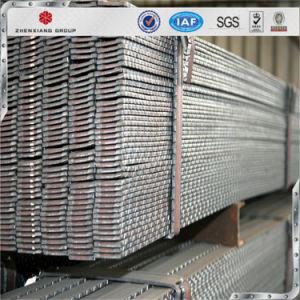 Van ASTM AISI de Engelse DIN JIS GB Staal Getande Vlakke Staaf van de I- Sectie