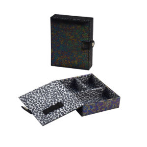 رف جلد مجوهرات مستحضر تجميل صندوق (8815)