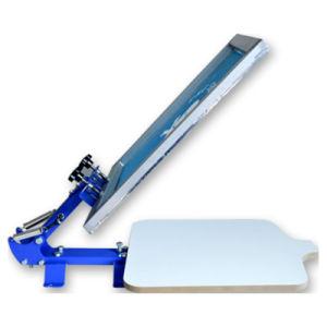 Mk-T11E Manual T-Camisa de seda, una pantalla color de impresora de serigrafía de máquina de impresión