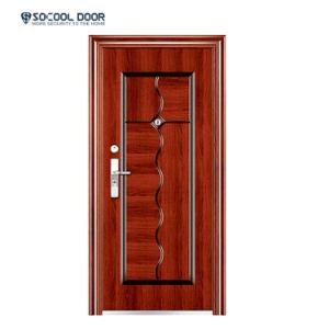 Fabricado na China Pine Portas Design da porta de Aço Brasil