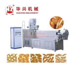 Snack Pellet Chips cornetas Precio de la línea de proceso de máquina de alimentos