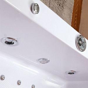 Bañera de hidromasaje masaje en el interior del rectángulo (TLP-658)