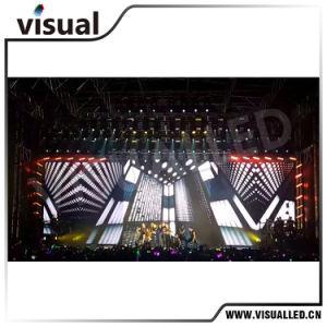 Écran LED de murs de vidéo Full HD LED P1.875 P2.51.667, P, P3 affichage LED