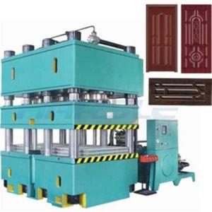 鋼鉄ドア浮彫りになる機械2000t油圧ドアの出版物機械