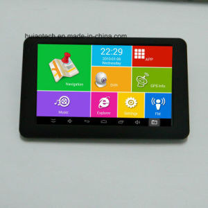 Android Market 6.0 Quádruplo 5.0inch Tablet PC com navegação GPS veicular,5.0MEGA FHD1080p carro DVR no painel AV-na câmara de Estacionamento Traseiro; WiFi carro GPS Navigator,bluetooth,FM