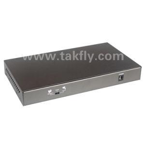 10/100/1000m 8 Kanälepoe-Netz-Schalter mit Standard 802.3af/at