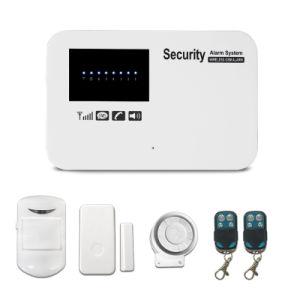 新しい声LEDの機密保護の無線電信4のゾーンGSMの家の国防市民軍兵の警報システム
