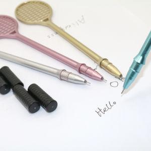 젤 펜을 유행에 따라 디자인 하는 창조적인 참신 라켓