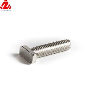 カスタマイズされたステンレス鋼CNCのMachiningtボルトA4 70 T型ボルト