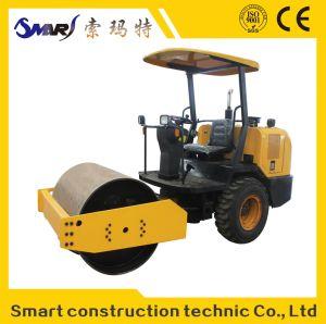 SMT-3.5 건축기계 소형 후방 고무 도로 롤러
