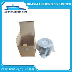 indicatori luminosi subacquei del raggruppamento dell'acciaio inossidabile LED di 12V IP68 18W RGB