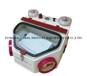 宝石類の歯科実験室の空気ポリッシャの砂の発破工のためのサンドブラスティング装置