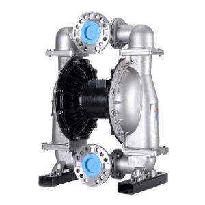 Pompe a diaframma liquide pneumatiche industriali dell'acciaio inossidabile