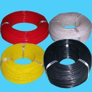 VDE 7022 conformidade RoHS padrão 180c 300/500V Fluoroplastic cabo com isolamento duplo