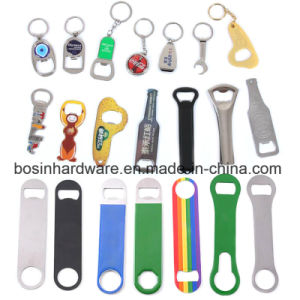 Keychainのためのステンレス鋼の栓抜き