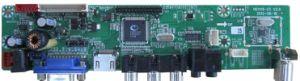 Lcd-Fernsehapparat-Schaltkarte-Hauptplatine, OEM/SMT PCBA/PCB Montage-/Electronics-Bauteile