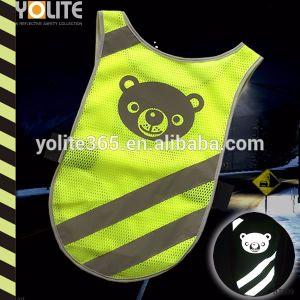 Les animaux de compagnie Gilet de sécurité, ruban en PVC réfléchissant Hi-Vis FR471 Classe 2, ANSI/ISEA