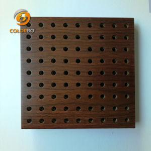Solutions Acoustiques efficace des matériaux de décoration en bois perforé Panneau acoustique
