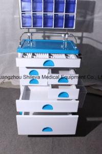 Het Medische Karretje van het Karretje van de Noodsituatie van de Kar van het Ziekenhuis van het Meubilair van het ziekenhuis