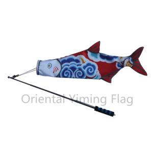 De verschillende Vlag van de Karper van de Vlag van de Vissen van het Type met de Vlag van de Veer