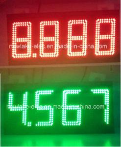 10Dans Mix rouge voyant vert affichage des prix pour la station de gaz