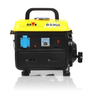 0.5kVA 950 Honda 650W 600W beweglicher schwanzloser 0.65kVA 0.75kVA 0.75kw 2.4HP Miniwatt Gleichstrom-Benzin-Generator 950 0.5kw