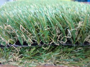 Cortile falso europeo d'abbellimento ecologico dell'erba dell'erba artificiale