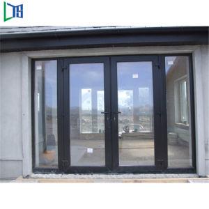 Il doppio caldo di stile di vendita ha lustrato il portello di alluminio di vetro dell'oscillazione