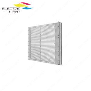 P7.8 (500x500mm) en verre transparent avec écran couleur LED DEL transparente de l'écran Affichage LED transparent