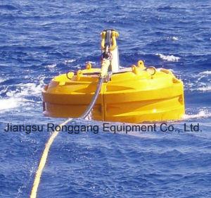 As bóias flutuantes Marinhos de atracação do navio