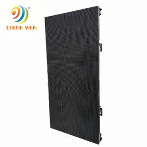 500*1000mm P4.81 écran LED de plein air Location du cabinet d'affichage incurvé