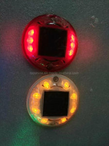 反紫外線ポリカーボネートのプラスチックLED点滅の信号の太陽道のスタッド