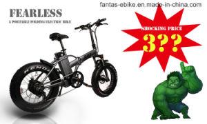Fantas BMX Schnee-elektrisches Fahrrad des Schiffsrumpf-36V250W 20inches