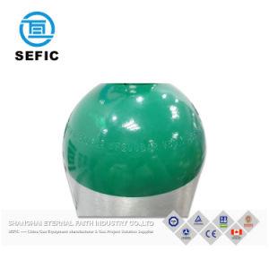 Cilindro de aluminio de alta presión para gases de Alta Pureza Industrial