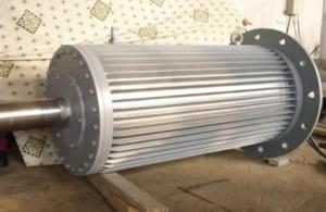 200rpm風発電機または永久マグネット発電機との60kw