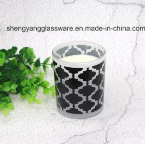 Galvanisierender Glaskerze-Halter für Weihnachtsdekoration