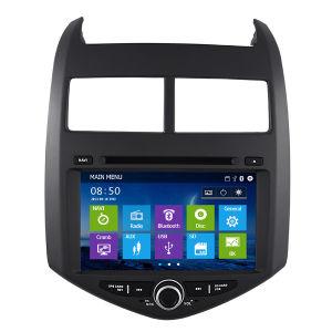 Chevrolet Aveo (IY8010)를 위한 차 DVD Player