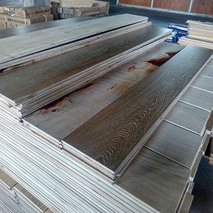 Commerce de gros noyer vernis UV parquet multicouches Engineered Wood Flooring