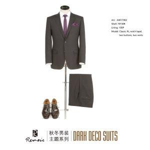 OEM 2 элемент Классический установите две кнопки мужской костюм для бизнеса