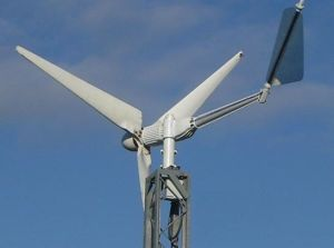 5KW Turbina Eólica / Sistema de Energia Solar