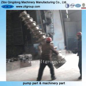 Edelstahl-/Kohlenstoffstahl-Sand-Gussteil-Teile mit der CNC maschinellen Bearbeitung